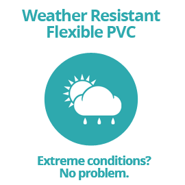 Weather Resistant Flexible PVC