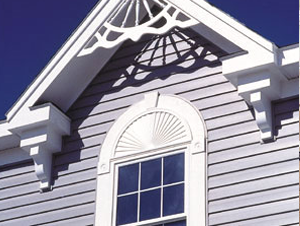 Flexible PVC architectural window trim